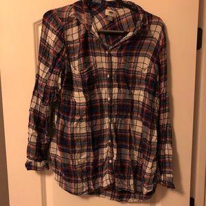 Cute women's flannel